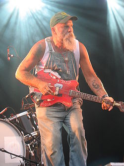 "Seasick Steve a ""Where the action is"", un festival musicale a Stoccolma nel 2009"