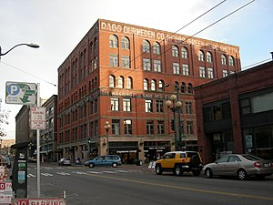 Sam Israel - Image: Seattle Washington Shoe Building 02