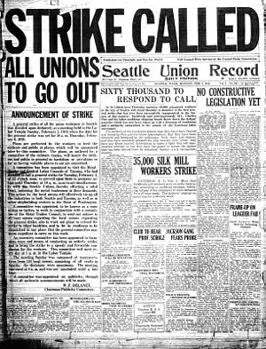 Seattle Union Record - Image: Seattle Union Record