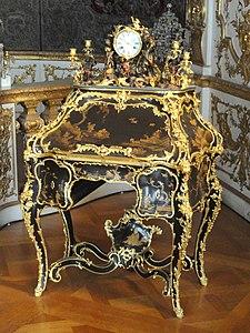 Secretaire - Bernard II van Risamburgh - Münchner Residenz - DSC07490