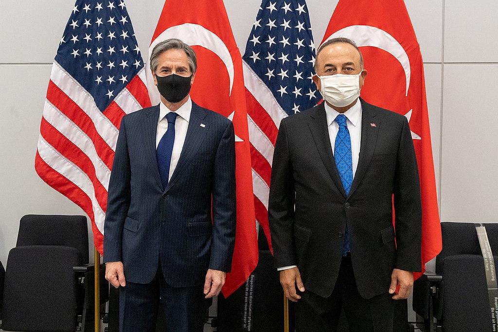 Secretary Blinken Meets with Turkish Foreign Minister Cavusoglu (51068203386)