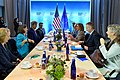 Secretary Kerry Meets With EU High Representative Mogherini at the 2016 Nuclear Security Summit in Washington (25569039563).jpg