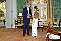 Secretary Kerry Shakes Hands With Burmese State Counselor Aung San Suu Kyi in Washington (29055073804).jpg