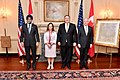 Secretary Pompeo Poses for a Photo With Secretary Mattis and Their Canadian Counterparts (45402936865).jpg