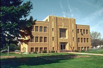 Sedgwick County, Colorado - Image: Sedgwick County Courthouse, Julesburg