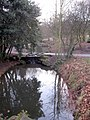 Sefton Park - water course and stepping stones - geograph.org.uk - 1710008.jpg