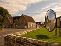 Shaftesbury, Abbey Primary School and motorists' mirror - geograph.org.uk - 1509499.jpg