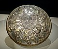 Shallow bowl, probably Afghanistan, Sasanian period, 5th-7th century AD, silver, gilt - Arthur M. Sackler Gallery - DSC05096.jpg