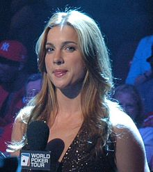 Hiatt hosting the World Poker Tour in 2005