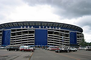 Willets Point, Queens - Shea Stadium, which was located in Willets Point from 1964 to 2008