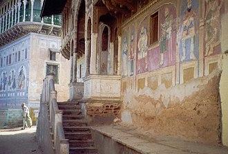 Shekhawati - Shekhawati painted houses.
