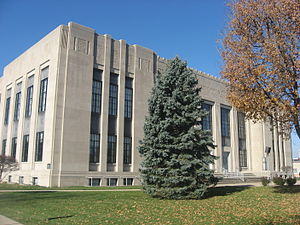 Shelby County, Indiana - Image: Shelby County Courthouse in Shelbyville