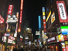 Shibuya Center-Gai at night.jpg