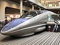 Shinkansen Series 500 car 521-1 at the Kyoto Railway Museum.jpg