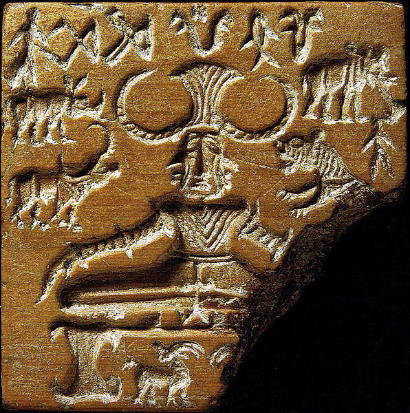 Soapstone Seal from Indus Valley