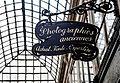 Shop sign, Passage Verdeau, 16 May 2013.jpg