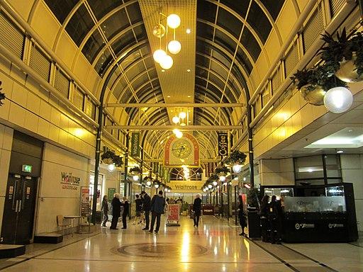 Shopping centre above Gloucester Road tube station Nov 2011