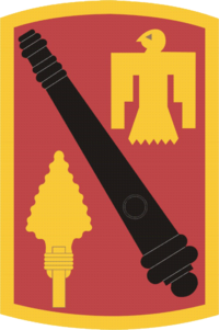 Shoulder Sleeve Insignia of the 45th Fires Brigade of the United States Army.png