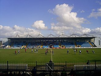 Ballymena Showgrounds - Image: Showgroundsbufc