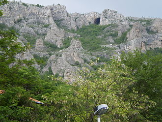 Sićevo Gorge - Caves in the surrounding area Sićevo