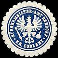 Siegelmarke Bürgermeister - Amt Bendorf - Kreis Coblenz W0235086.jpg