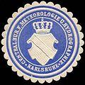 Siegelmarke Centralbüro für Meteorologie und Hydrographie - Karlsruhe W0225911.jpg
