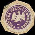 Siegelmarke Chef des Feldflugwesens W0346717.jpg