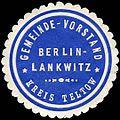 Siegelmarke Gemeinde - Vorstand Berlin - Lankwitz - Kreis Teltow W0224329.jpg