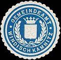 Siegelmarke Gemeindeamt Windisch Kamnitz W0321261.jpg