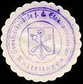 Siegelmarke Gemeindebehörde für die Einkommensteuer - Knittlingen W0229369.jpg