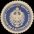 Siegelmarke K. Marine Kommando des S. Matrosen-Regiments W0357531.jpg