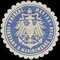 Siegelmarke K. Marine Vorstand der Marinewerke Libau W0357520.jpg