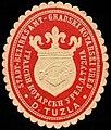 Siegelmarke Stadt-Bezirksamt D. Tuzla W0301738.jpg