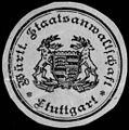 Siegelmarke Württembergische Staatsanwaltschaft - Stuttgart W0227809.jpg