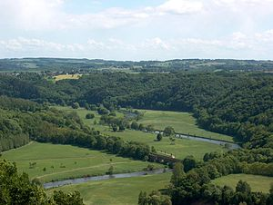 Central Uplands - Central Uplands in North Rhine-Westphalia: Siegtal in the Rhenish Massif