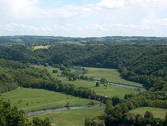 Central Uplands - Central Uplands in North Rhine-Westphalia: Siegtal in the Rhenish Massif