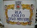 Sign Rua Adolfo Casais Monteiro Albufeira 20 March 2015 (1).JPG