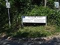 Sign at entrance to Salisbury Road, Kits Coty - geograph.org.uk - 1381337.jpg
