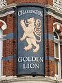 Sign for The Golden Lion, Royal College Street - Pratt Street, NW1 - geograph.org.uk - 1450685.jpg