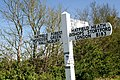 Signpost on B183 - geograph.org.uk - 305550.jpg