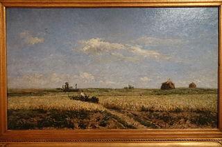 Landscape Representing the Plain