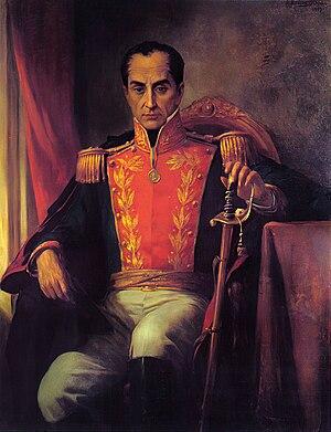 Ricardo Acevedo Bernal - Posthumous portrait of Simón Bolívar