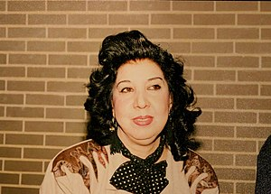 Simin Behbahani - Simin Behbahani in Washington DC, ca. 1990.