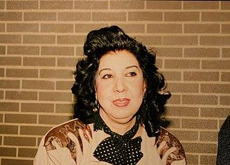 Simin Behbahani - Simin Behbahani in Washington DC, ca. 1990.