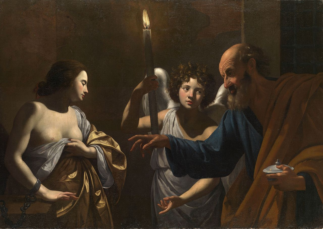 1280px-Simon_Vouet_-_Saint_Peter_Visiting_Saint_Agatha_in_Prison.jpg (1280×909)