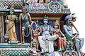 Singapore. Sri Mariamman. Gopuram. South East-20.JPG