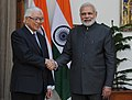 Singaporean President meets Narendra Modi during the former's state visit to India.jpg
