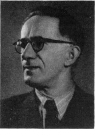 President of the National Assembly of Serbia - Image: Siniša Stanković 1953