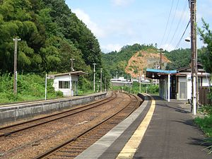 Shisho Station - Platforms