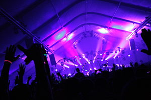 Disco Biscuits - Image: Skrillex Camp Bisco X